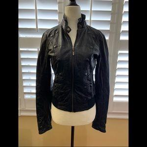 Vintage MEXX Lambskin Leather Jacket